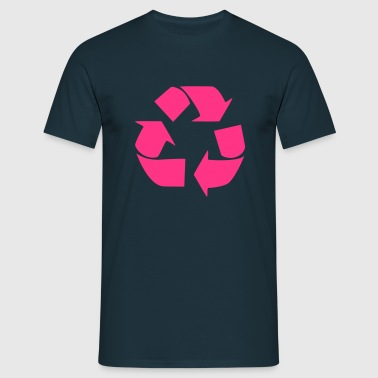 Recycling for the World - T-shirt herr
