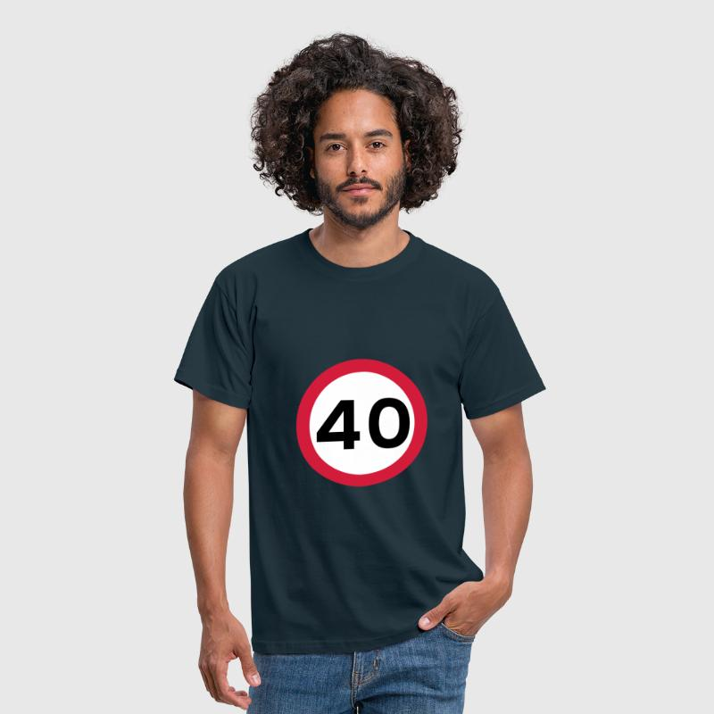 Hitting the Big 40! - Men's T-Shirt