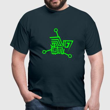▲ TECH - Men's T-Shirt