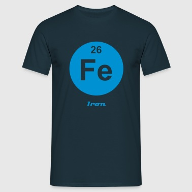 Iron (Fe) (element 26) - Men's T-Shirt