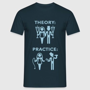 Theory & Practice / Bride & Groom (Wedding) - Men's T-Shirt