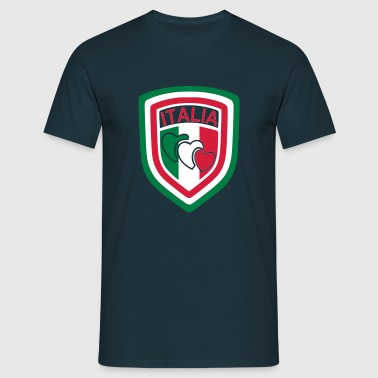 scudetto_italia3 - Men's T-Shirt