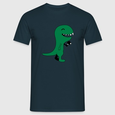 Funny Table Tennis Dinos - Männer T-Shirt