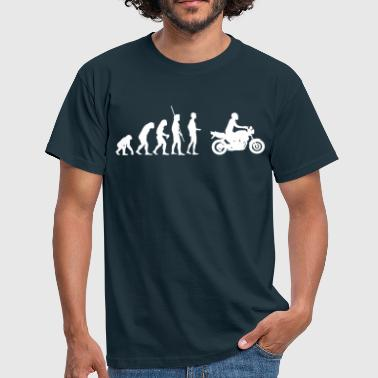 Evolution moto naked bike  - T-shirt Homme