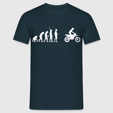 Evolution Stående Enduro driva  - T-shirt herr