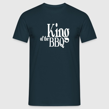 king of the bbq - Camiseta hombre