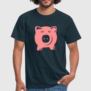 Outlet Pig  - Herre-T-shirt