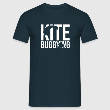 kitebuggying - Men's T-Shirt