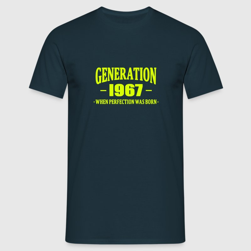 Generation 1967 - Mannen T-shirt