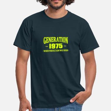 f00825978d834 Année De Naissance Generation 1975 - T-shirt Homme