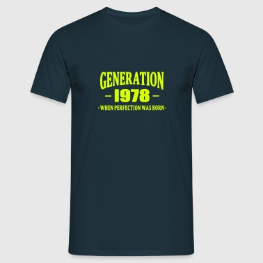 Generation 1978 - Men's T-Shirt