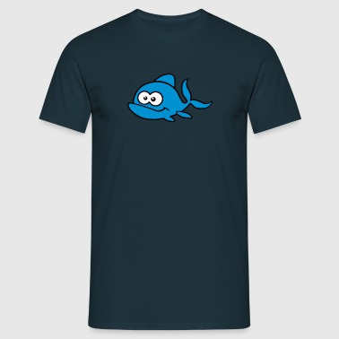 Sweet fish with bulging eyes. - Men's T-Shirt