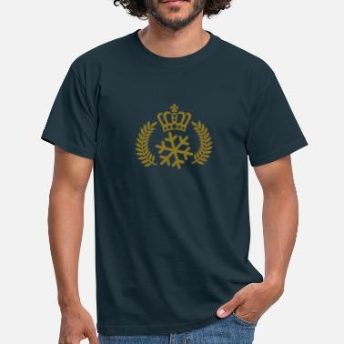 Snow Queen Schneekönig | Schneekönigin | King of Snow | Queen of Snow - Men's T-Shirt