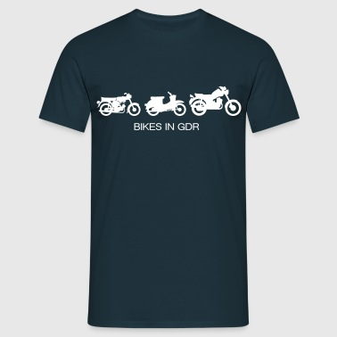 Motorcycles in the GDR  - Men's T-Shirt