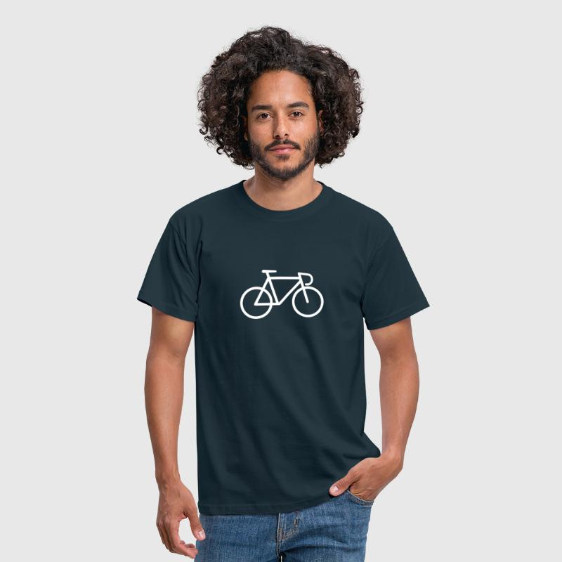 Bike Symbol - Mannen T-shirt