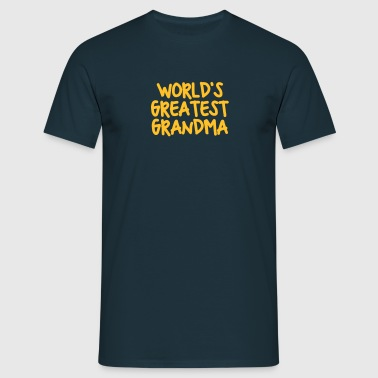 worlds greatest grandma - Men's T-Shirt