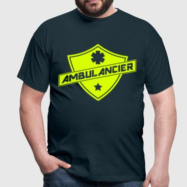 blason ambulancier - T-shirt Homme