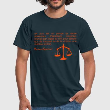 Justice! - T-shirt Homme