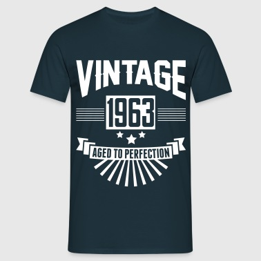 VINTAGE 1963 - Aged To Perfection  - Men's T-Shirt