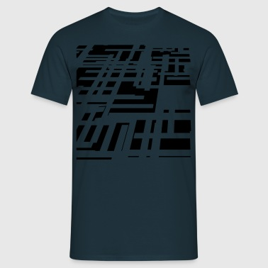 circuit_pattern - Men's T-Shirt