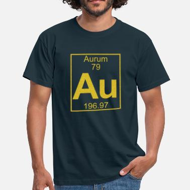 Aurum Element 079 - Au (aurum) - Full - Männer T-Shirt