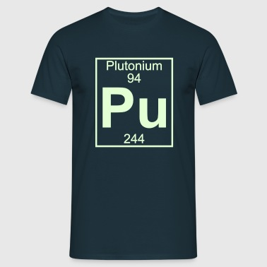 Element 094 - Pu (plutonium) - Full - Mannen T-shirt