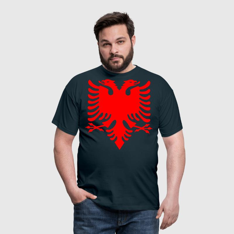 Albanian Eagle Herald Red - Men's T-Shirt