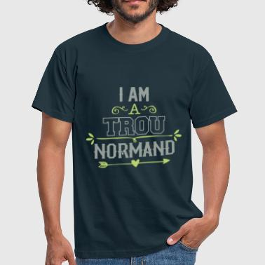Humour Normandie  trou Normand - T-shirt Homme