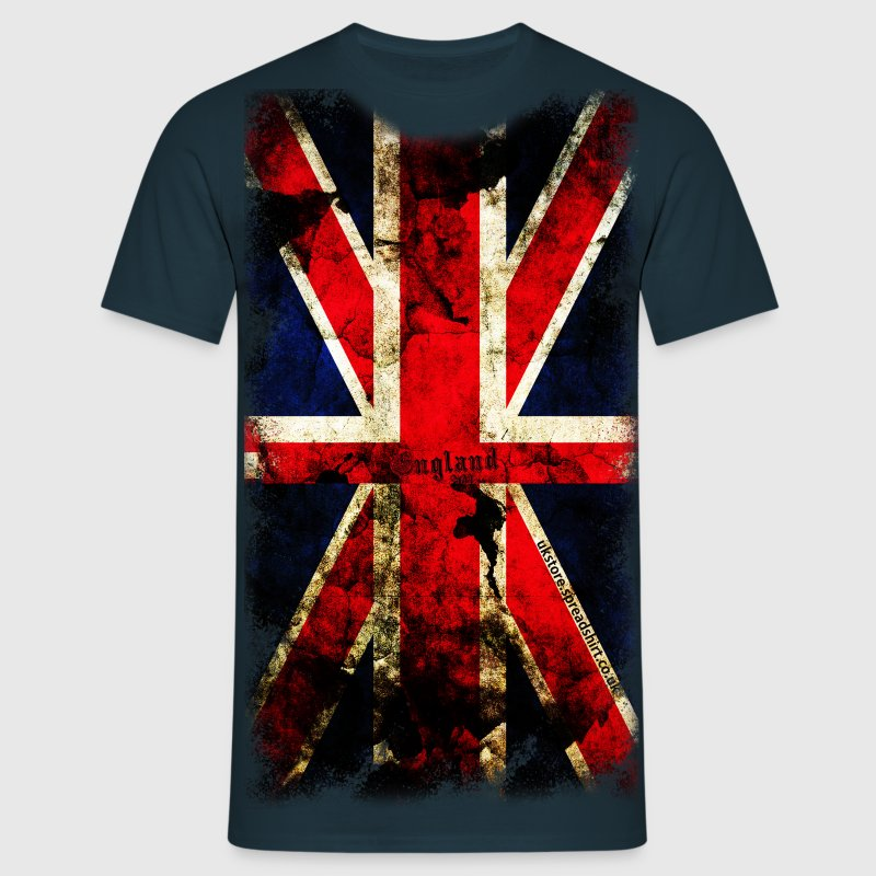 union_jack_down Kids' Shirts - Men's T-Shirt