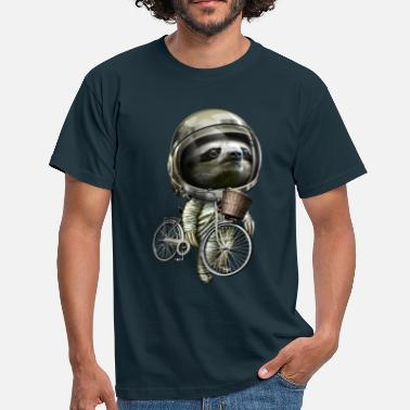 Cool WITH MY BIKE ALONG - Mannen T-shirt
