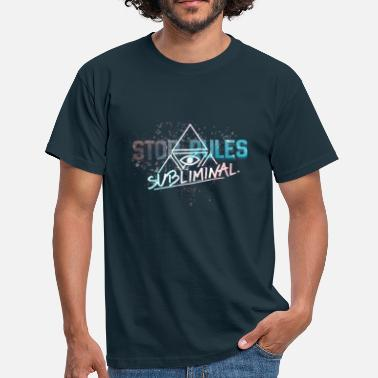 Subliminal STOP RULES by SUBLIMINAL Club - Men's T-Shirt