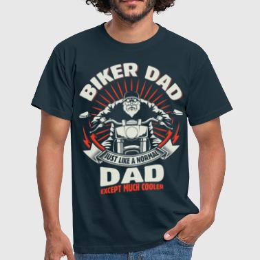 Biker Dad - Men's T-Shirt
