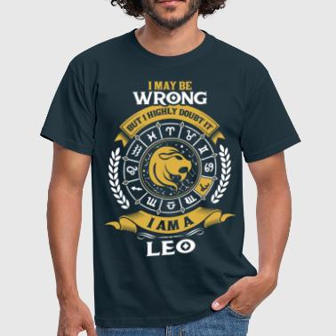 Leo Horoscope ....I Am A Leo - Men's T-Shirt