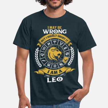 I Am A Leo ....I Am A Leo - Men's T-Shirt