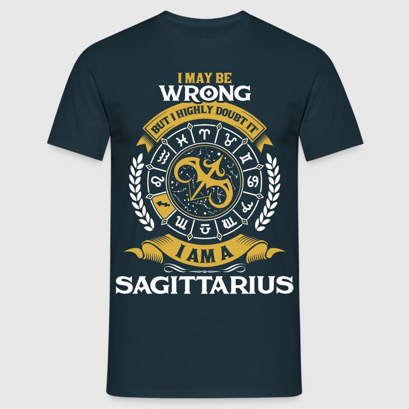 .....I Am A Sagittarius - Men's T-Shirt