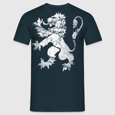 White Lion Rampant - Men's T-Shirt