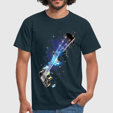 Cosmic Guitar - T-shirt Homme