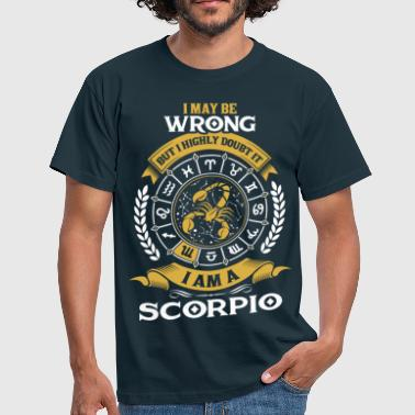 .....I Am A Scorpio - Men's T-Shirt
