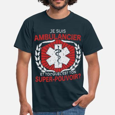 Ambulance AMBULANCIER - T-shirt Homme