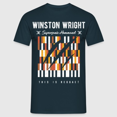 Winston Wright Supersonic keyboard player - Men's T-Shirt