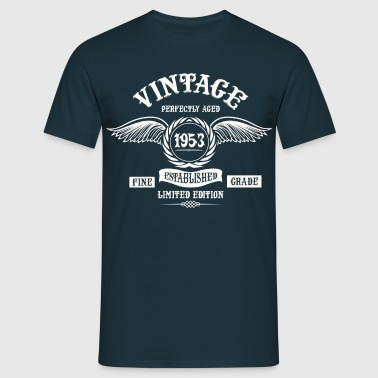 Vintage Perfectly Aged 1953 - Men's T-Shirt