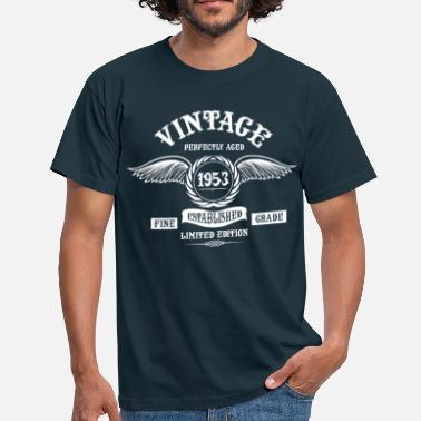 Vintage 1953 Vintage Perfectly Aged 1953 - Men's T-Shirt