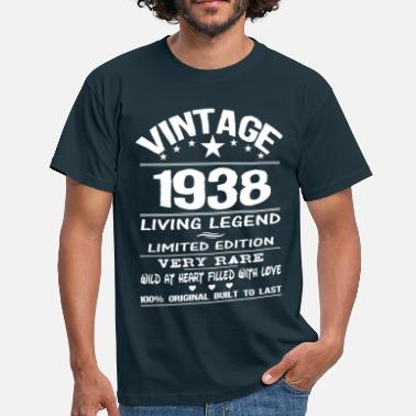 1938 VINTAGE 1938-LIVING LEGEND - Men's T-Shirt