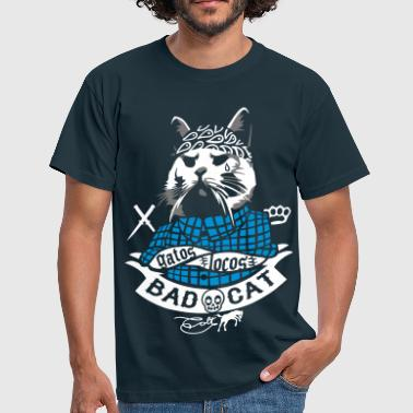 Bad Cat - Gatos Locos - Mannen T-shirt