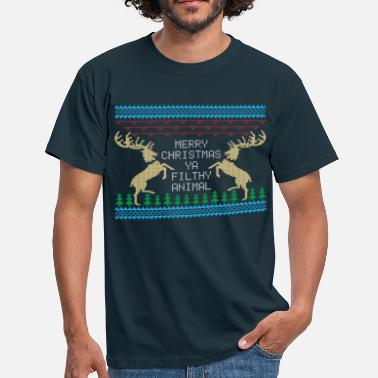 Merry Christmas Ya Filthy Animal Merry Christmas Ya Filthy Animal - Men's T-Shirt