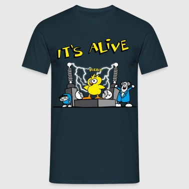 its_alive_chick_d - T-shirt herr