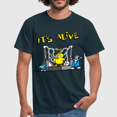 its_alive_chick_d - Camiseta hombre