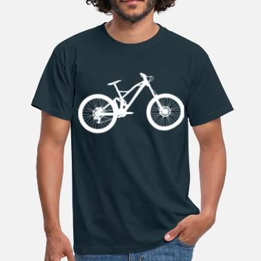 Downhill Bike - T-shirt Homme