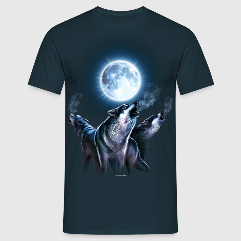 Wolf, Leader of the Pack - Männer T-Shirt