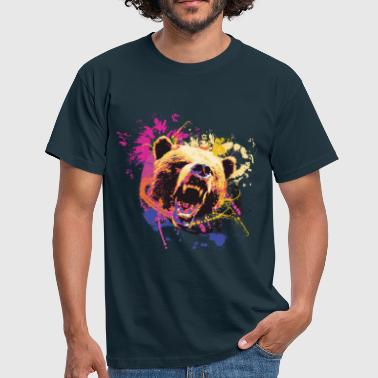 Bear Design - Men's T-Shirt